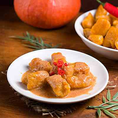 Curried Pumpkin Gnocchi