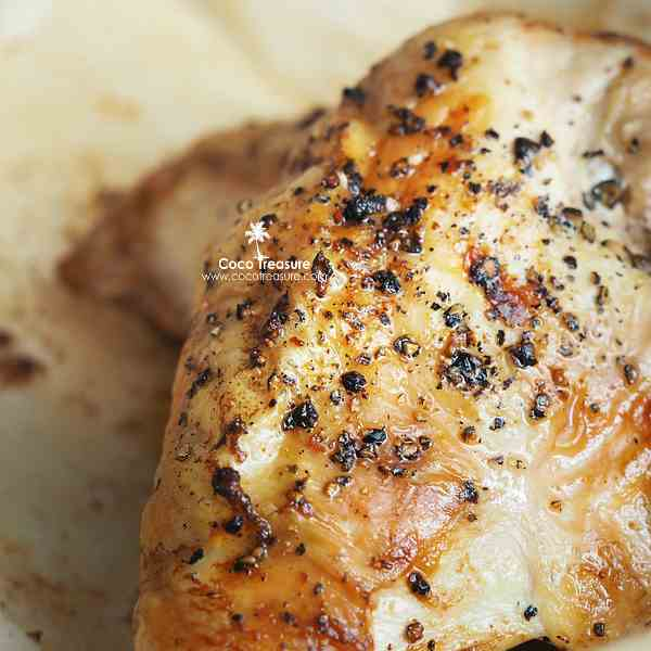 Baked Chicken w- Coconut Oil Basting Sauce