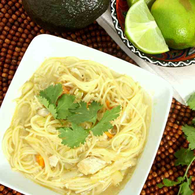 Mexican Style Chicken Soup