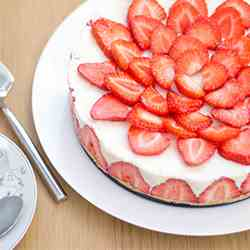 Strawberry - Vanilla Cheesecake