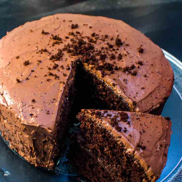 Soft And Moist Chocolate Cake Recipe