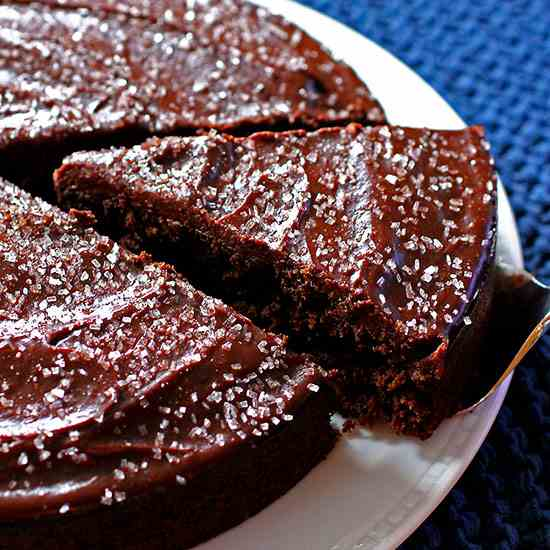 Cabernet Chocolate Cake