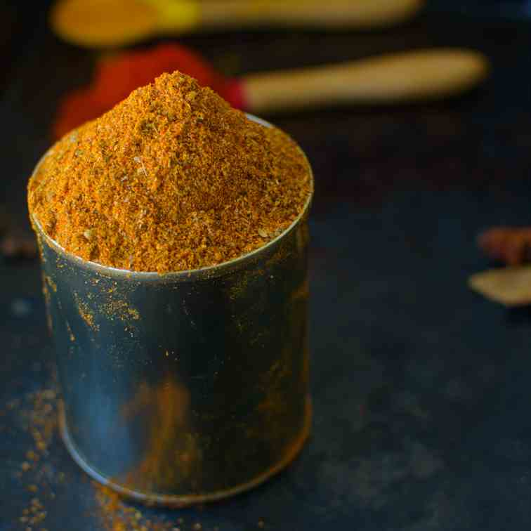 how to make tandoori spice mix