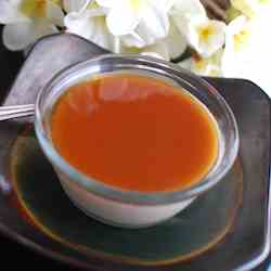 Vietnamese Soy Pudding with Ginger Syrup