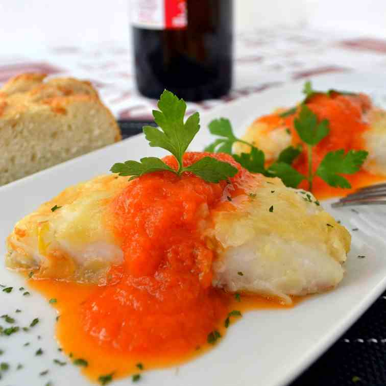 Dishfolio eat share drool for Sauce for cod fish