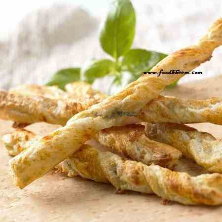 Herbs Twists-Savoury Puff Pastry Twists