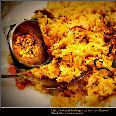 Instant Pot Mutton Biryani