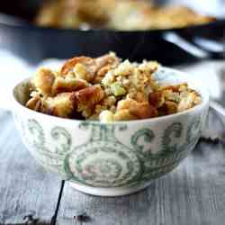 Homemade Sage Stuffing
