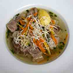 Pork with Root Vegetables