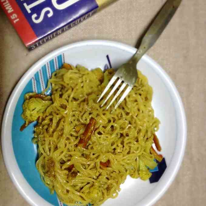 Butter Maggi Noodles