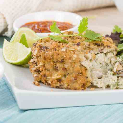 Paleo Lunch Makeover with Spicy Tuna Cakes