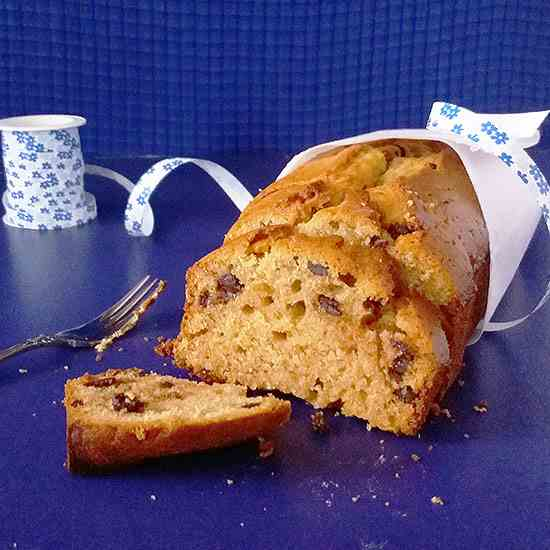 Pear and Honey Moist Loaf