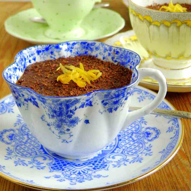 Spicy Mexican Chocolate Pudding
