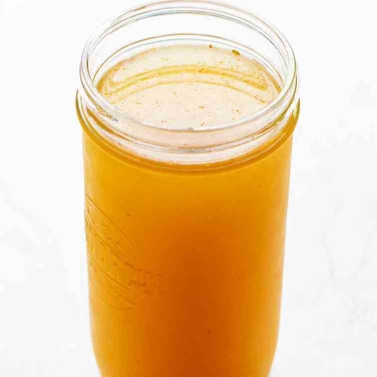 Ninja Foodi Chicken Bone Broth