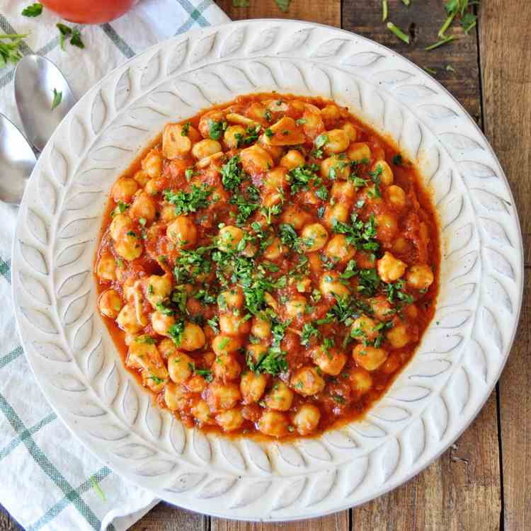 Spanish Chickpeas