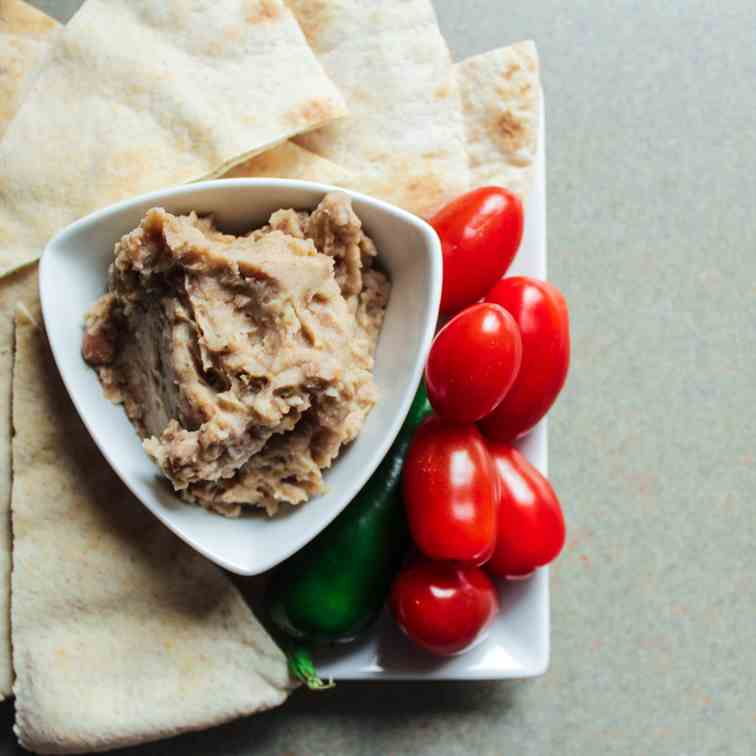 Bean and Jalapeno Dip