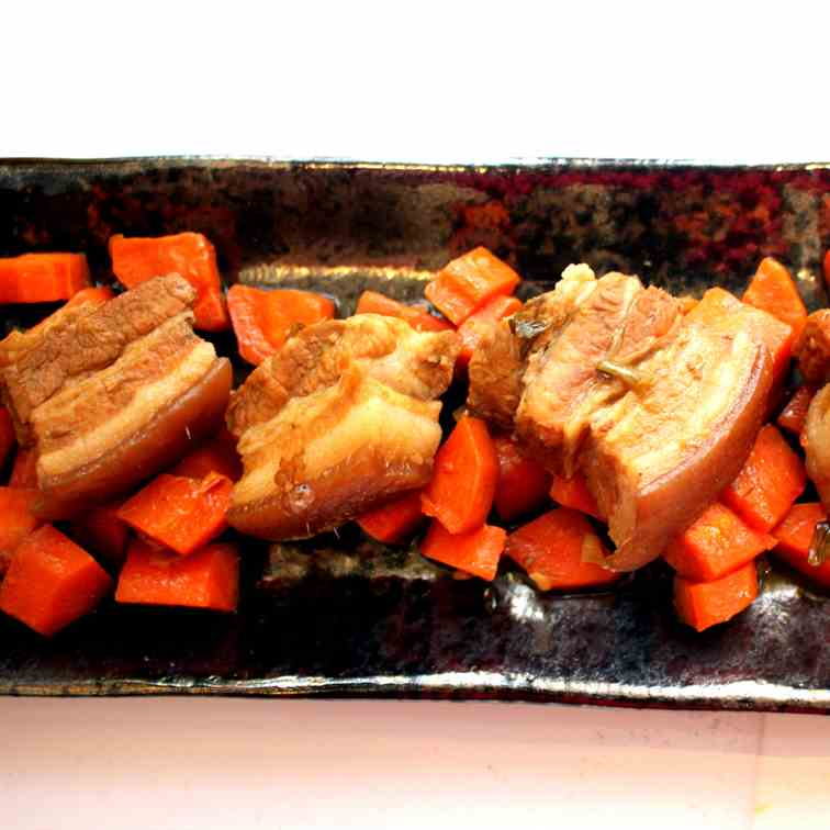 Pork Belly with Carrots