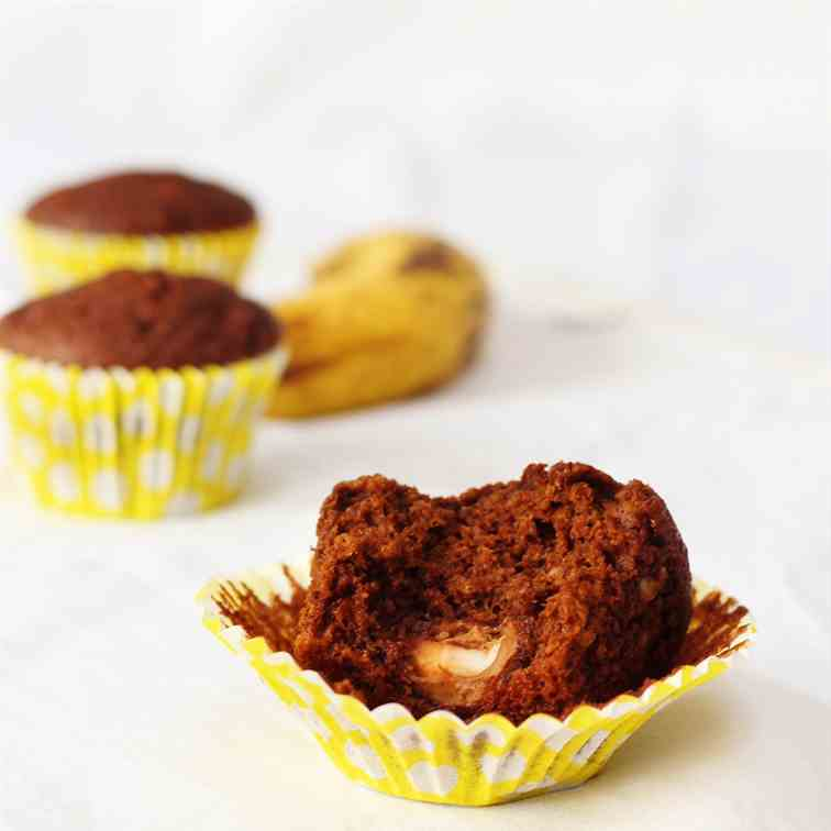 Creme Egg Surprise Muffins