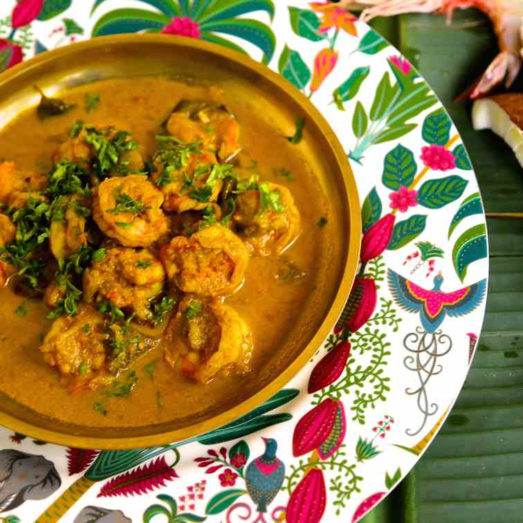 Creole Prawn Curry