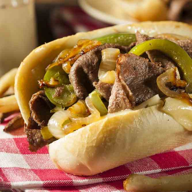 How To Make Philly Cheese Steak Sandwich