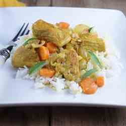 Coconut Lemongrass Braised Pork