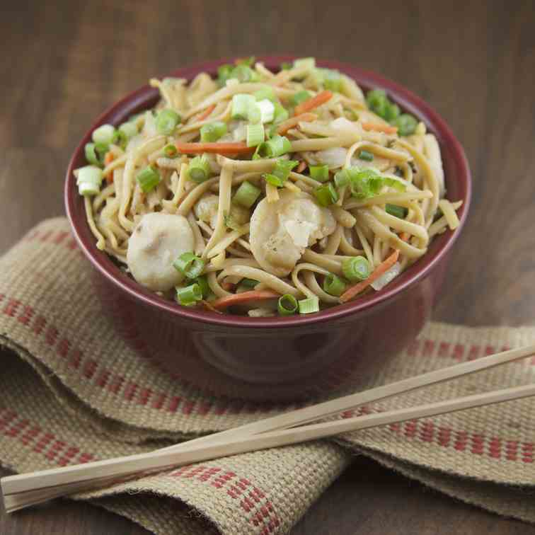 Vegetable Lo Mein - an easy weeknight meal