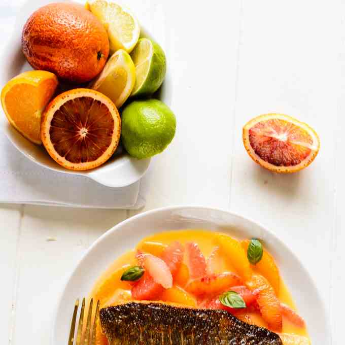Citrus Sea Bass