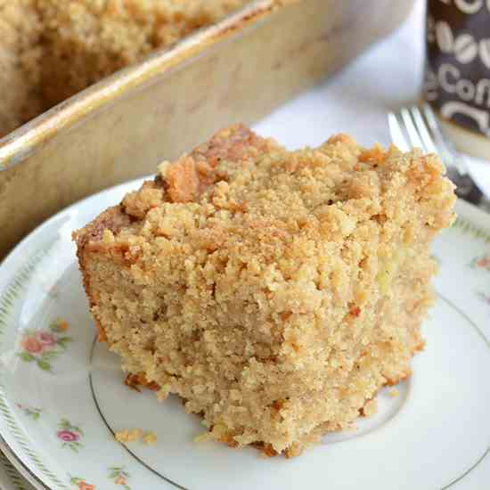 Brown Butter Banana Coffee Cake
