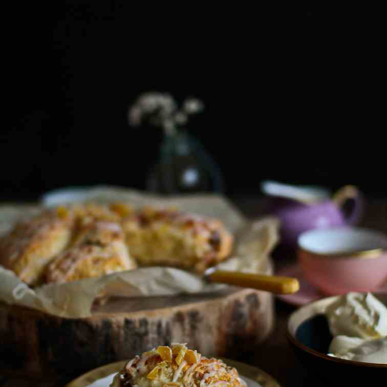 Incredibly Soft Date - Ginger Scone