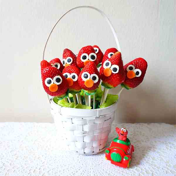 Elmo Strawberry bouquet