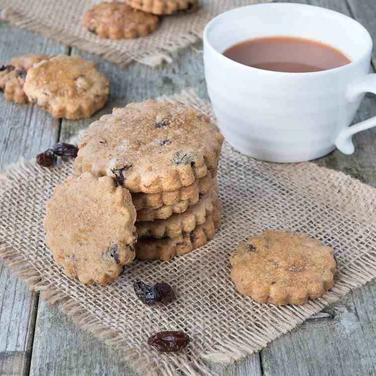Bara Brith Biscuits