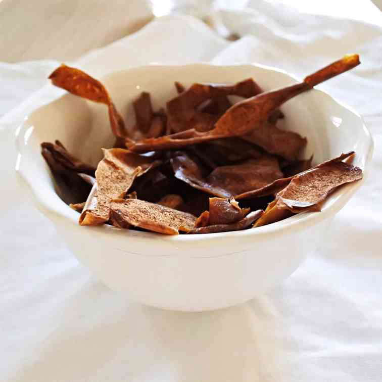 Sweet - Spiced Apple Peels