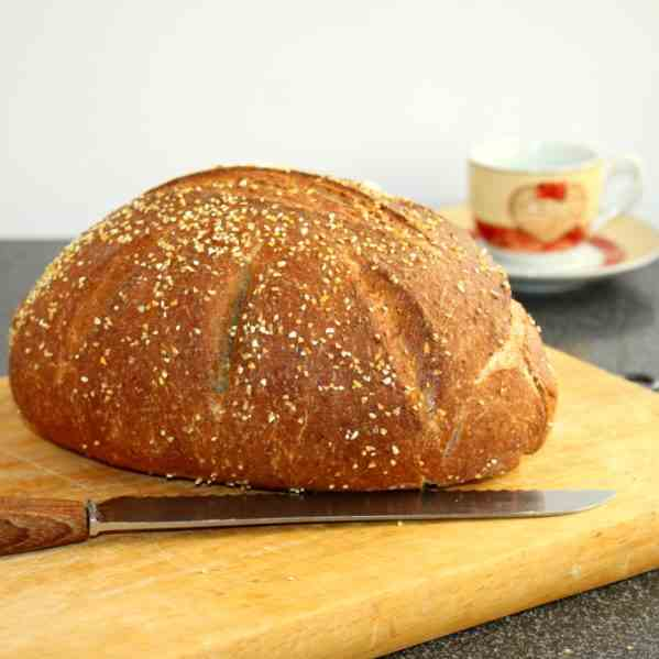 Simple wholemeal Bread