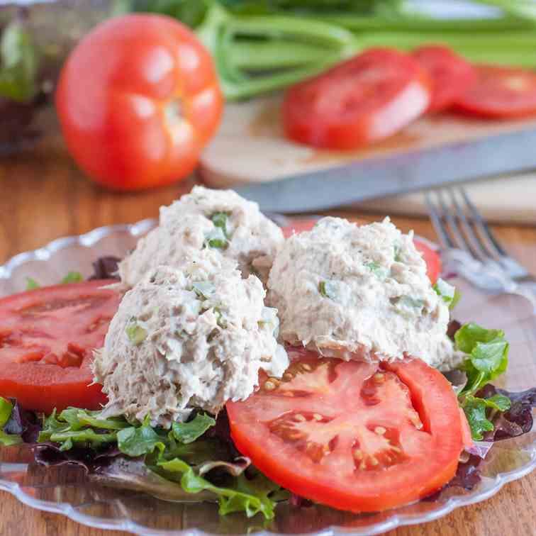 Healthy Lite Italian Tuna Salad