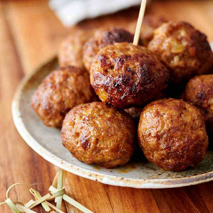 Air Fryer Pork Meatballs