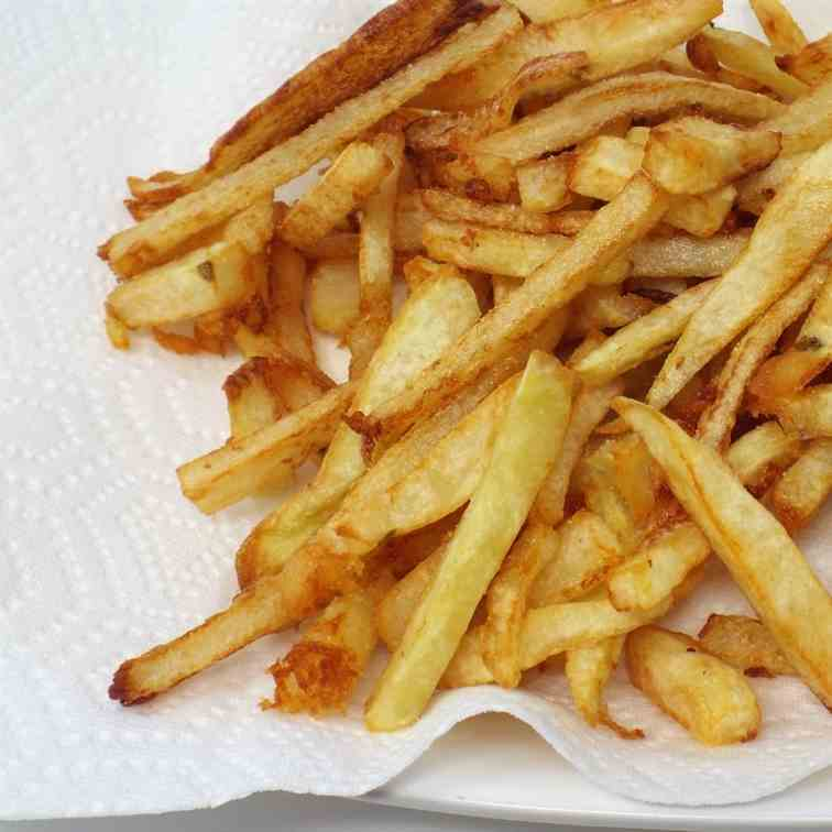 Easy Dutch Oven French Fries