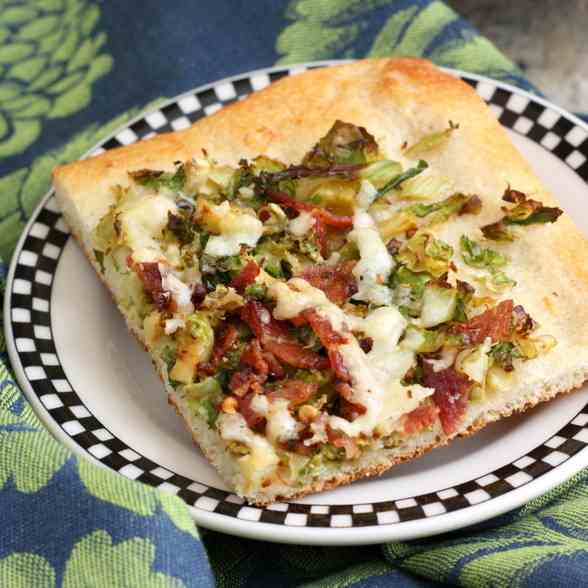 Brussels Sprouts - Bacon Pizza