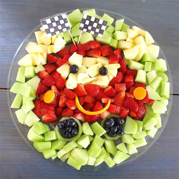 Disney Cars Fruit Tray