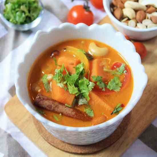 Quick Moroccan Vegetable Stew
