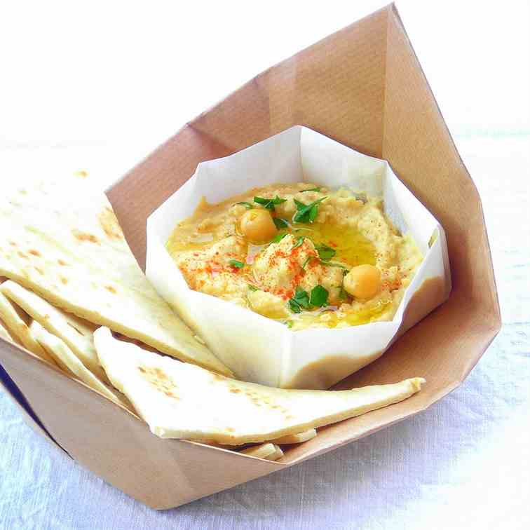 Hummus - Pressure Cooked Chickpea Dip