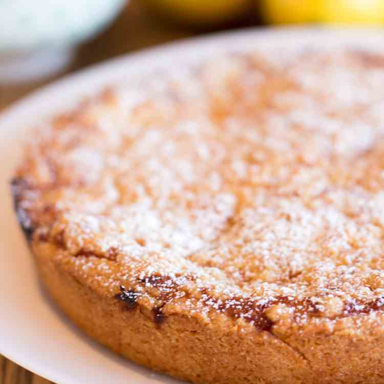 Belgian lemon tea cake recipe