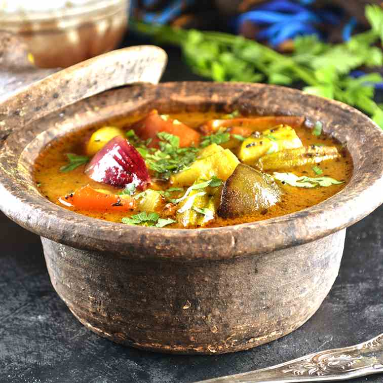 Indian Vegetable Sambar