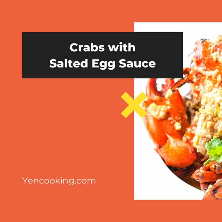 Crabs with Salted Egg Sauce
