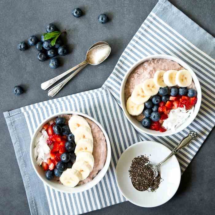 Berry Chia Breakfast Bowl