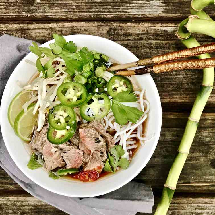 Quick Flavorful Beef Pho