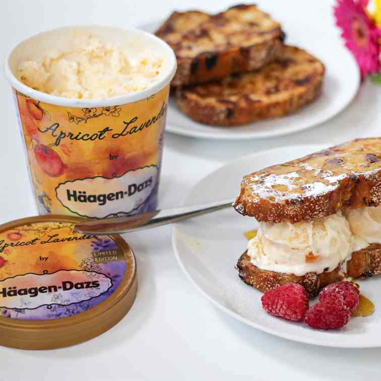 French Toast Ice Cream Sandwich
