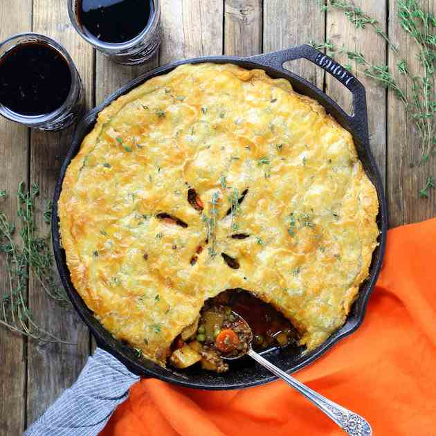 Cottage Beef Pot Pie