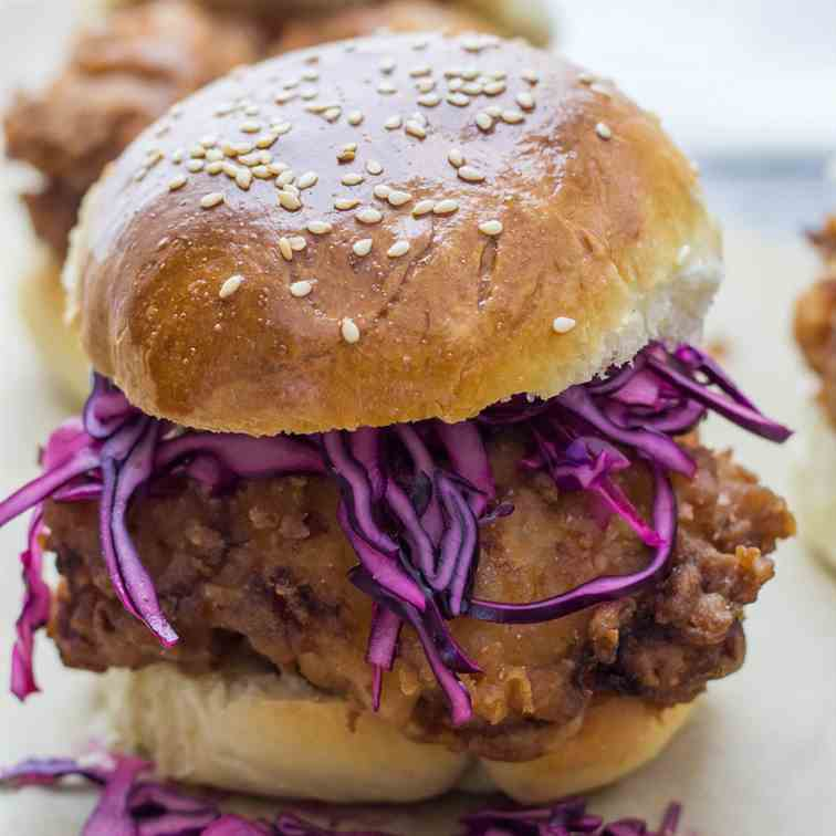 Buttermilk Fried Chicken Sandwiches