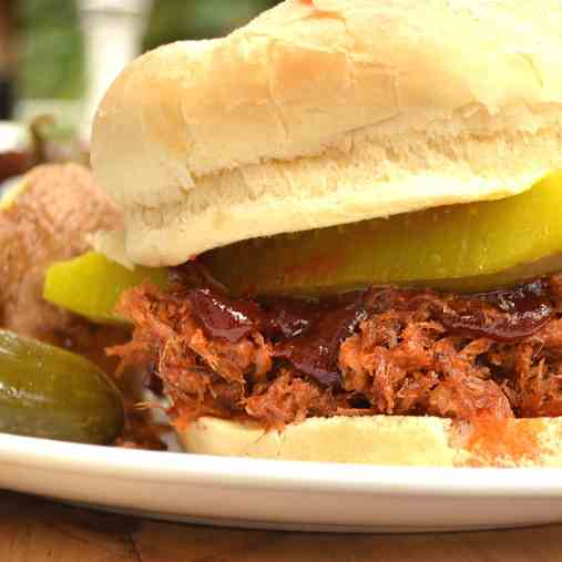 Pulled Pork with Chipotle BBQ Sauce