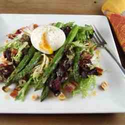 Asparagus Salad with Bacon and Eggs